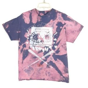 Office Space Bleached and Dyed Tshirt